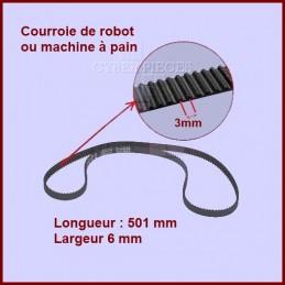 Courroie pour robot 501 mm - MS0698399 CYB-036597