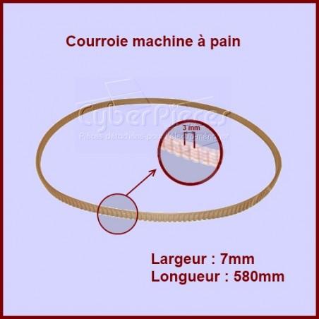 Courroie 580mm machine à pain