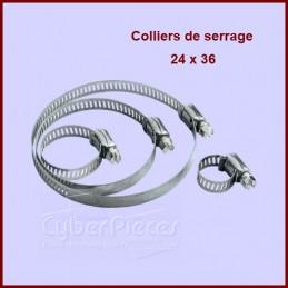 Collier de serrage 24X36 à la pièce CYB-001908