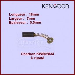 Charbon Kenwood à l'unité - 7x5,5x18 - KW602834 CYB-107235