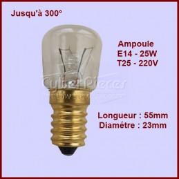 Lampe de Four / Frigo E14 - 25w - 300° 50294697003 CYB-015554