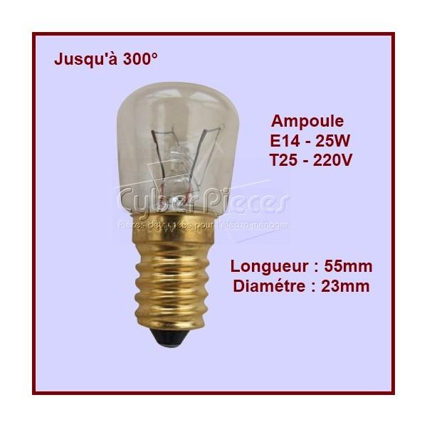 Lampe de Four / Frigo E14 - 25w - 300° 50294697003