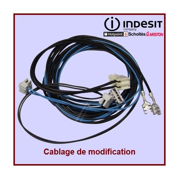 Câblage Module Electrovanne Indesit C00141769