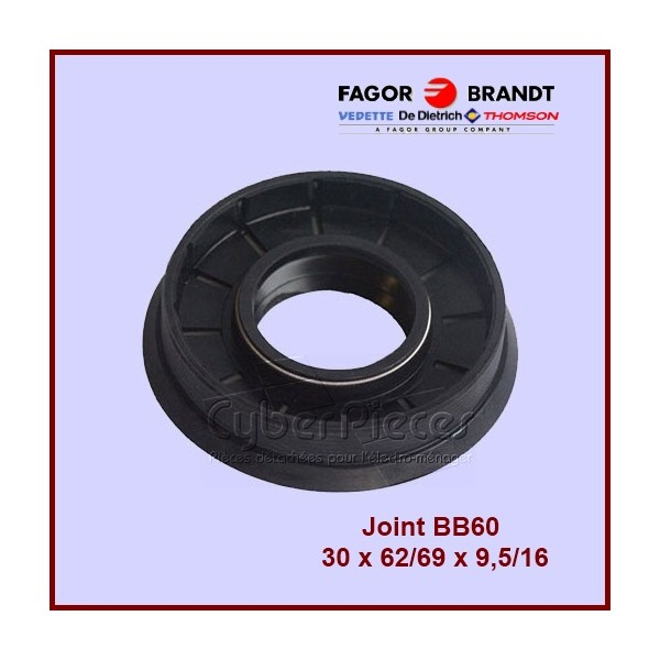 Joint BB60 Bourrage  30 x 62/69 x 9,5/16 - 55X3678