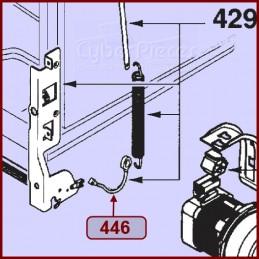 Lot de 2 câbles de porte LV4 Brandt 32X1853 CYB-013833