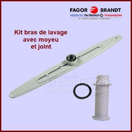 Bras de lavage inférieur 31X9985 + moyeu et joint Brandt 32X3921