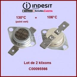 Kit de 2 thermostats -...