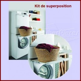 Kit Superposition lave-linge / Seche-linge CYB-012423