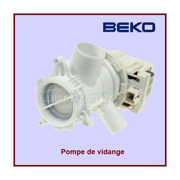 pompe de vidange 3 sorties beko 2880402000 pour pompe de vidange machine a laver lavage pieces. Black Bedroom Furniture Sets. Home Design Ideas
