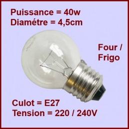 Ampoule E27 40w 220/240v CYB-015547