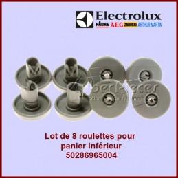 Lot de 8 roulettes Electrolux 50286965004 CYB-089340