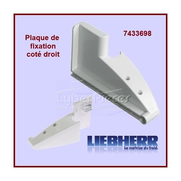 Plaque de fixation Droite 7433698 Liebherr