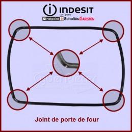 fixations 1 cuisinière four principal joint de porte en caoutchouc joint HOTPOINT sy51x st87ex Sy36b