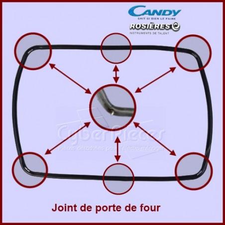 Joint tour de porte de four 93616647