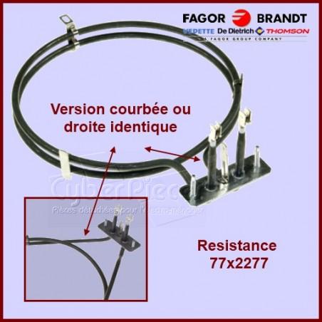 Résistance Circulaire 77X2277