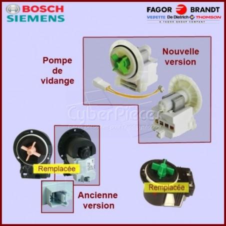 Pompe de vidange 52X5131 ou AS0002631 MALICE avec Adaptateur