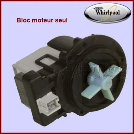 Bloc moteur seul pour pompe 481231028144 ou 481231018458