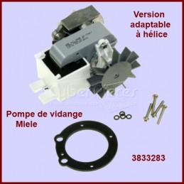 Pompe de vidange à helice adaptable pour Miele 3833283 CYB-061179