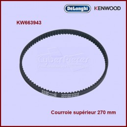 Courroie crantée supérieur 270RPP3 - 663943 CYB-356282