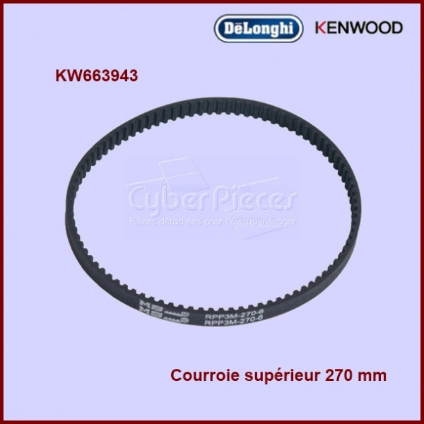 Courroie crantée supérieur 270RPP3  - 663943