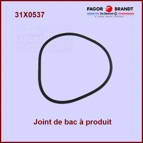 Joint du bac à produit Brandt 31X0537