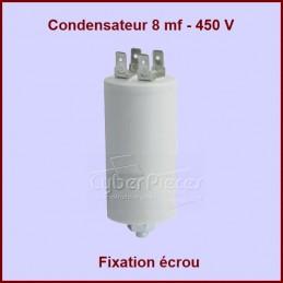 Condensateur 8,0µF (8mF) 450V CYB-005449