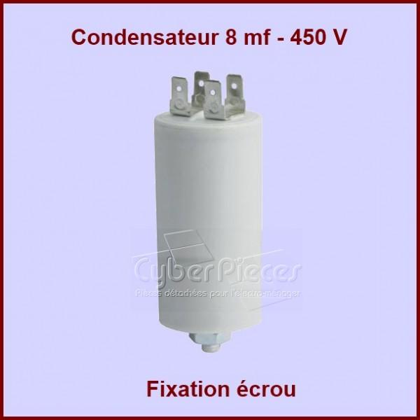 Condensateur 8,0µF (8,0MF) 450 Volts