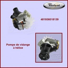 Pompe de vidange Whirlpool 481936018139 CYB-000116