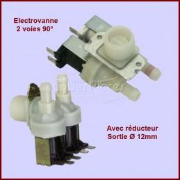 Électrovanne 2 voies 90°- sortie Ø 12 mm avec réducteur 31X2516 CYB-117944