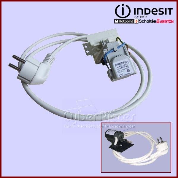 cable d 39 alimentation antiparasite c00091633 c00112678 i4 pour machine a laver lavage pieces. Black Bedroom Furniture Sets. Home Design Ideas
