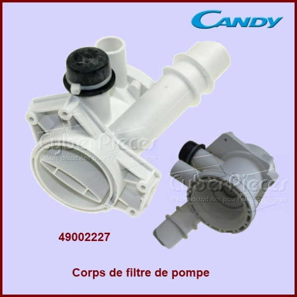 Corps de filtre de pompe Candy 49002227