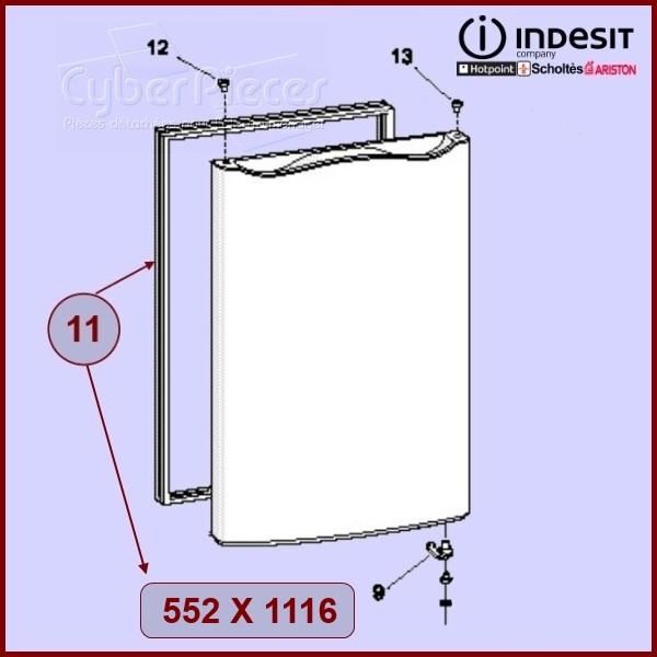 Joint De Porte Réfrigerateur (552x1116) Indesit C00114665