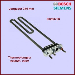Thermoplongeur 2000w - 340mm 263726 CYB-012621