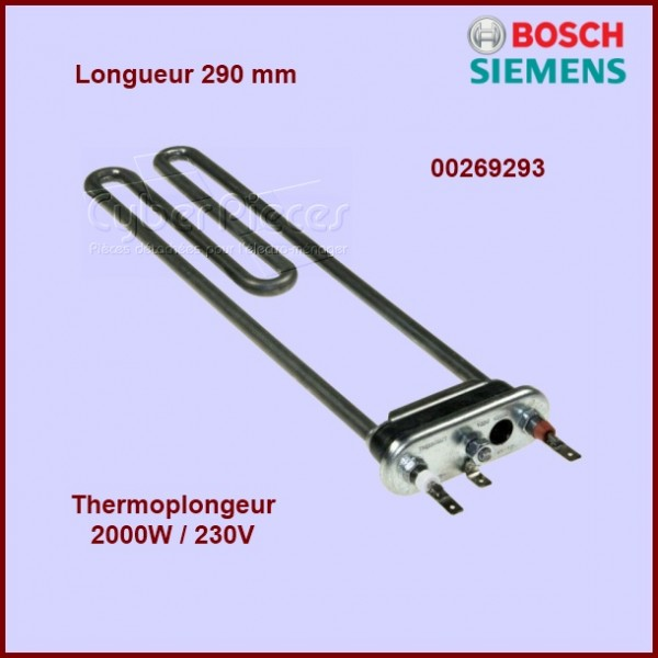 Thermoplongeur 2000w/230V - 290mm 00269293