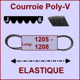 Courroie 1205J6 -1208J6 -...