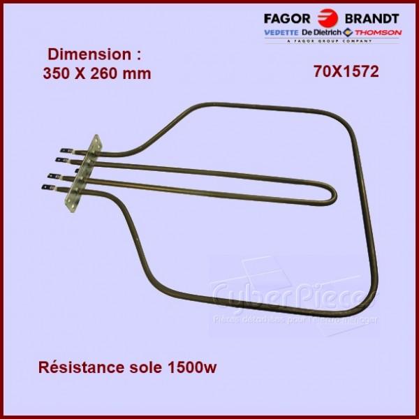 Résistance sole 1500w + 860w / 350 X 260 mm