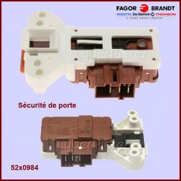 Sécurité de porte Brandt 52X0984 CYB-007665