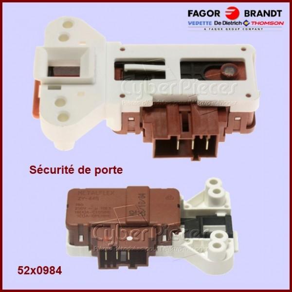 Sécurité de porte Brandt 52X0984