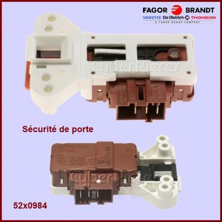 Sécurité  de porte 52x0984