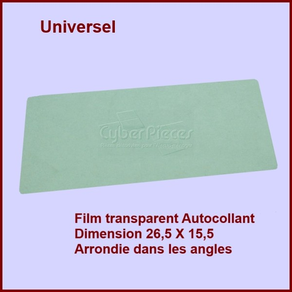 Film Ecran Porte Intérieur 26,5 X 15,5 ( 76x7850)