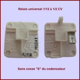 Relais compresseur standard 1/12 à 1/2 cv sans cosse S du condensateur CYB-014793
