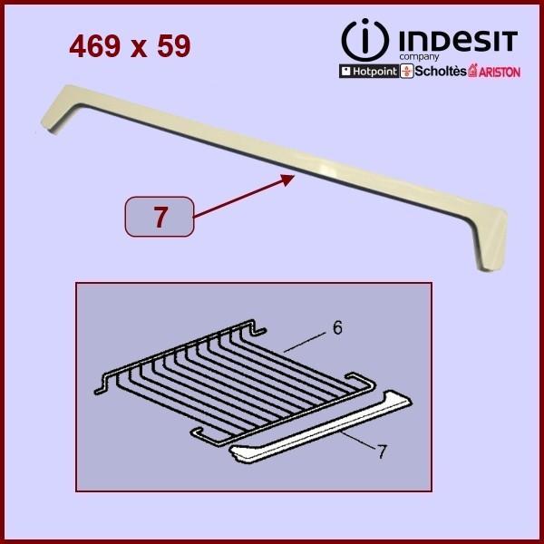 Profilé avant de grille clayette Indesit C00086379