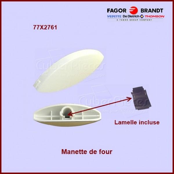 Manette de four blanche 77X2761