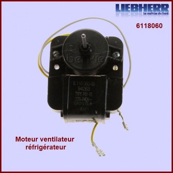 Ventilateur réfrigérateur 6118060 sans hélice