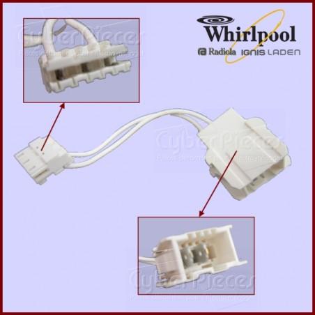 Adaptateur pour pompe de cyclage Whirlpool 480140102481