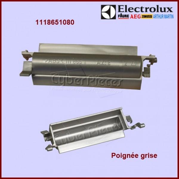Poign e grise electrolux 1118651080 pour poignee de porte - Machine a laver grise ...