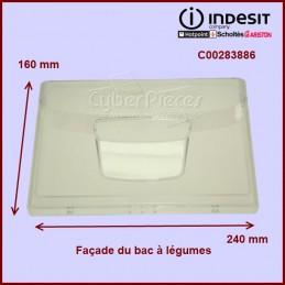 Façade transparente du bac à légumes C00283886 CYB-350679