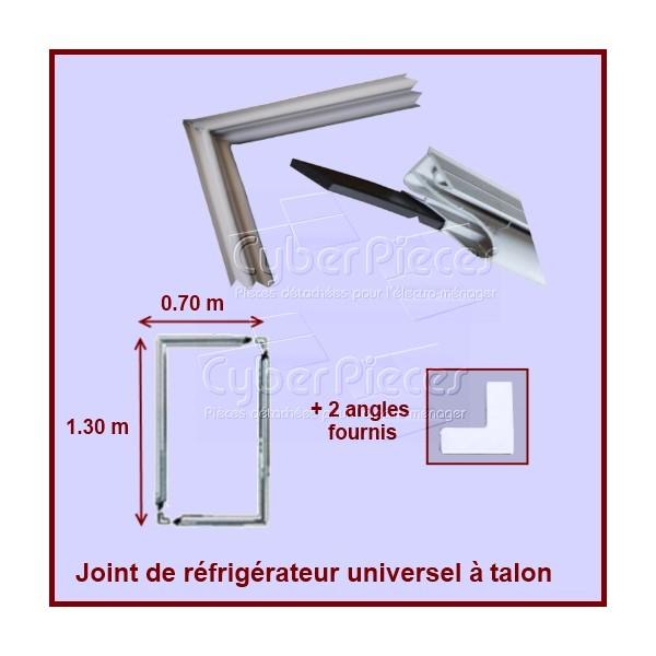 Kit joint magnétique à talon dimension 1m30 X 0m70