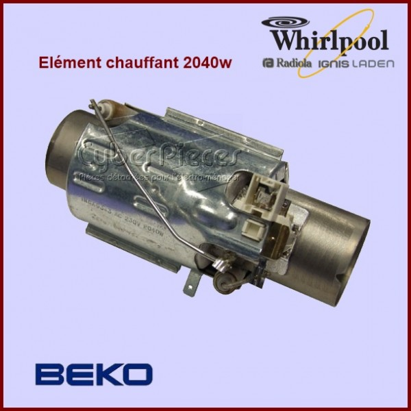 Élément de chauffe 2100 w Whirlpool 484000000610 - 461972415242