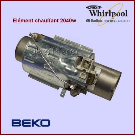 Élément de chauffe 2040 w Whirlpool 484000000610 - 461972415242